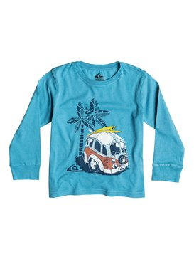 Organic Palm Combi - Long Sleeve T-Shirt  EQKZT03033
