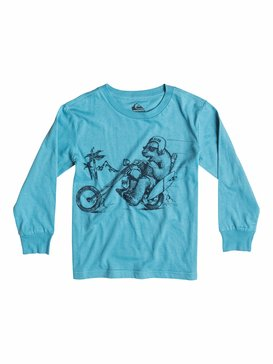 Organic Bear Chopper - Long Sleeve T-Shirt  EQKZT03035