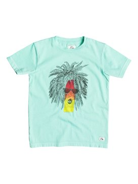 Garment Dye Rasta Palm - T-Shirt  EQKZT03055