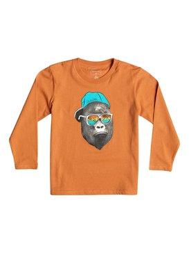 Classic Kong Business - Long Sleeve T-Shirt  EQKZT03067