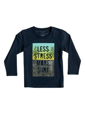Classic Less Stress - Long Sleeve T-Shirt  EQKZT03068