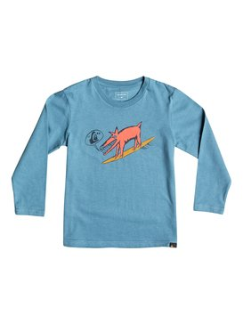 Classic Dogi Surf - Long Sleeve T-Shirt  EQKZT03069
