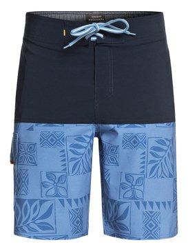 "Waterman Malama Bay 18"" - Board Shorts  EQMBS03035"