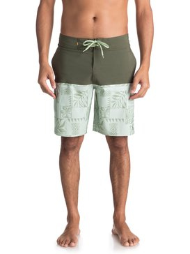 "Waterman Malama Bay 18"" - Board Shorts  EQMBS03035"