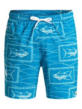 "Waterman Da Boys 19"" - Swim Shorts  EQMJV03002"