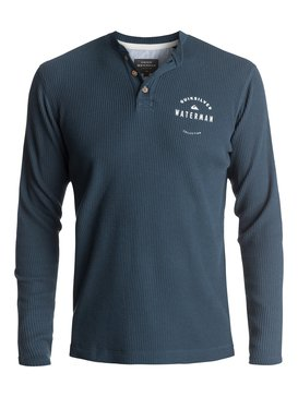 Waterman Thermal Creeks - Thermal Long Sleeve Henley T-Shirt  EQMKT03011