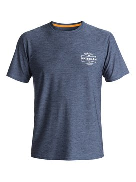 Waterman Water Marked - Short Sleeve Rash Vest  EQMWR03026