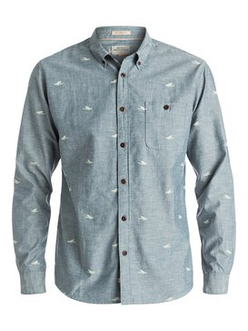 Waterman Post Surf - Long Sleeve Shirt  EQMWT03013