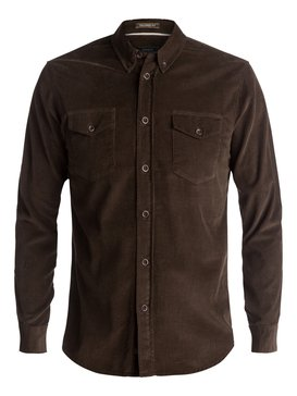 Waterman Bells Point - Corduroy Long Sleeve Shirt  EQMWT03032