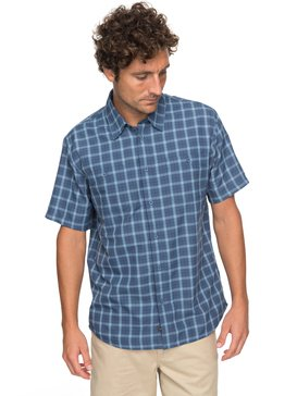 Waterman Wake Plaid 2 - Technical Short Sleeve Shirt  EQMWT03123