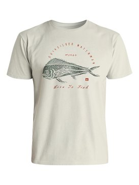 Waterman Live To Fish - T-Shirt  EQMZT03017