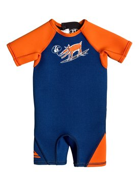 Boy's 2-7 Syncro 1.5mm Back Zip Springsuit  EQTW503000
