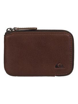 Half - Zip Leather Wallet  EQYAA03332