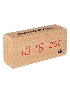 Quiksilver - Wooden Alarm Clock  EQYAA03367
