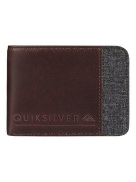 Mix Fabric - Leather Wallet  EQYAA03374