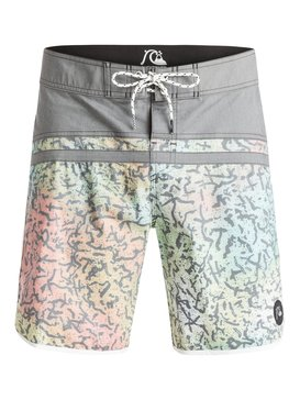 "Stomp Cracked Scallop 18"" - Board Shorts  EQYBS03265"