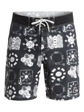 "Michael Leon X Arkitip Adamson Wall Original Yoke 18"" - Board Shorts  EQYBS03345"