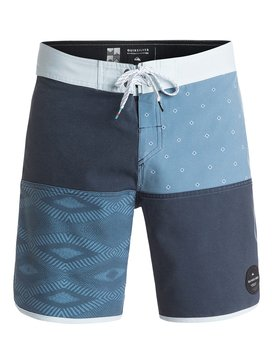 "Quad Block Scallop 18"" - Board Shorts  EQYBS03473"