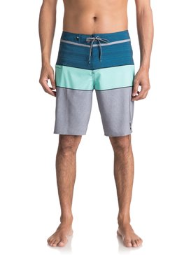 "Everyday Blocked Vee 20"" - Board Shorts  EQYBS03573"