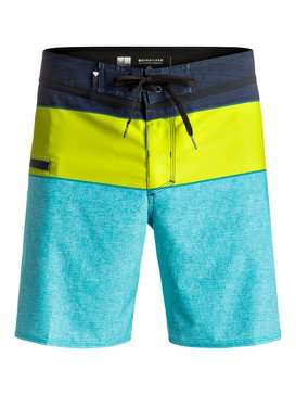 "Everyday Blocked Vee 17"" - Board Shorts  EQYBS03607"
