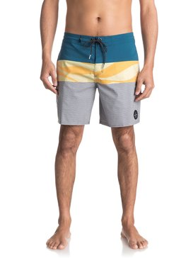 "Heatwave Blocked 18"" - Beachshorts  EQYBS03771"