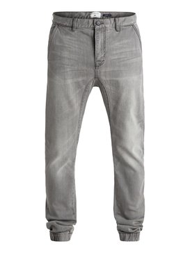 "Fonic Fix Used Grey 32"" - Denim Joggers  EQYDP03227"