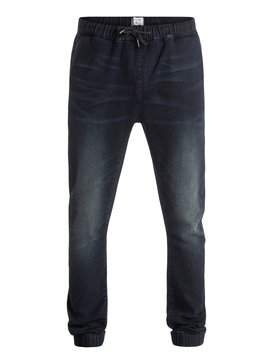 Fonic Dark Blue - Slim Fit Denim Joggers  EQYDP03229