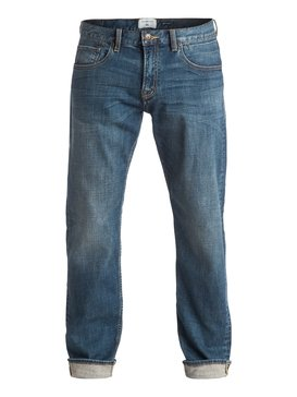 Sequel Medium Blue - Regular Fit Jeans  EQYDP03315
