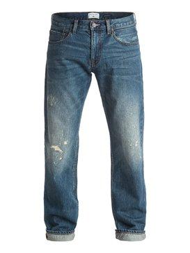 Revolver Medium Blue - Straight Fit Jeans  EQYDP03318