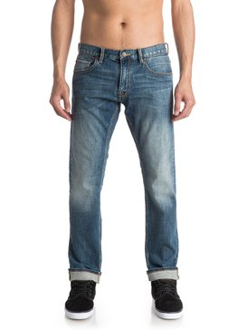 Revolver Medium Blue - Straight Fit Jeans  EQYDP03318