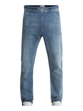 Fonic Straight Salty Stone - Slim Fit Denim Joggers  EQYDP03338