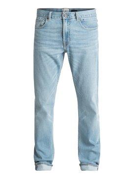 Revolver Foam Blue - Straight Fit Jeans  EQYDP03343