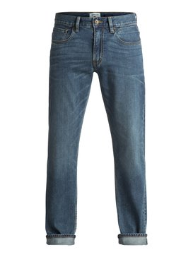 Sequel Medium Blue - Regular Fit Jeans  EQYDP03344