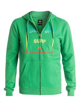 Shut Up And Surf - Zip-Up Hoodie  EQYFT03233
