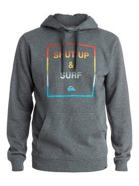 Shut Up And Surf - Pullover Sweatshirt  EQYFT03234