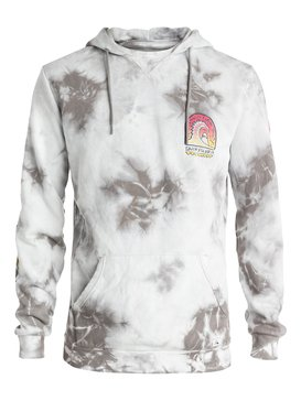SHRINE  HOODY TIE AND DYED Grey EQYFT03266