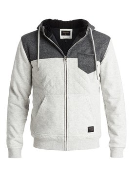 Best Trip - Quilted Zip-Up Hoodie  EQYFT03438