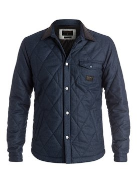 Marbling - Quilted Overshirt  EQYJK03280