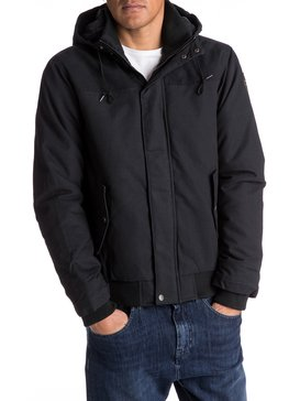 Everyday Brooks - Water-Repellent Hooded Bomber Jacket  EQYJK03365
