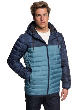 Scaly Block - Water Resistant Puffer Jacket  EQYJK03426