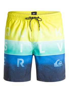 "Word Blocked 17"" - Swim Shorts  EQYJV03054"