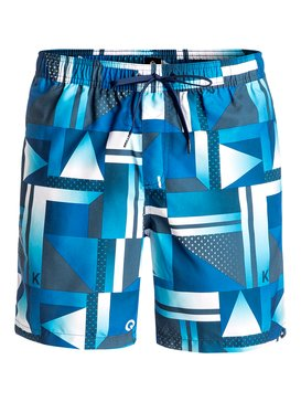 "Check 17"" - Swim Shorts  EQYJV03227"