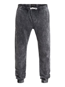 Outta My Way - Denim Joggers  EQYNP03100