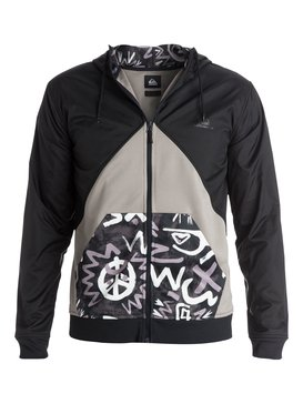 Active Nylon Block - Zip-Up Hoodie  EQYPF03008