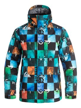 veste de ski homme blouson manteau de ski quiksilver. Black Bedroom Furniture Sets. Home Design Ideas