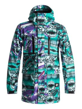 Julien David X Quiksilver Dark And Stormy - Snowboard Jacket  EQYTJ03074