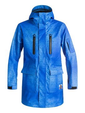 Quiksilver X Julien David - Long Snow Jacket  EQYTJ03092