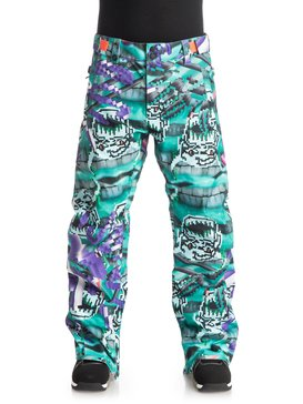 Julien David X Quiksilver County Shell - Snowboard Pants  EQYTP03039