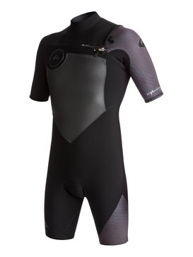 2/2mm Highline Series - Short Sleeve Chest Zip Springsuit  EQYW503005
