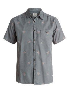 Daggering Twill - Short Sleeve Shirt  EQYWT03340